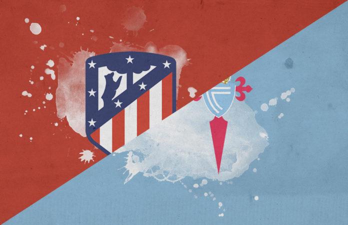 La Liga 2018/19 Atletico Madrid Celta Vigo tactical analysis
