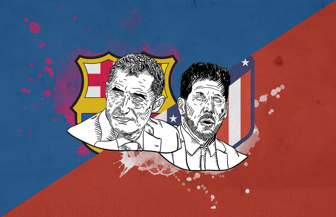 La Liga 2018/19 Barcelona Atletico Madrid tactical preview analysis