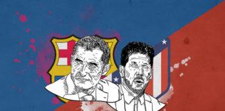 La Liga 2018/19 Barcelona Atletico Madrid tactical analysis