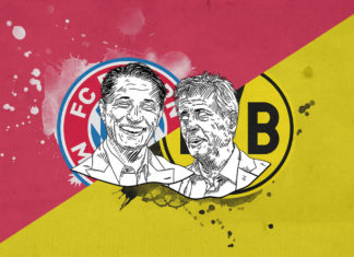 Bundesliga 2018/19 Bayern Munich Borussia Dortmund tactical preview analysis