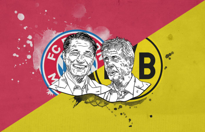 Bundesliga 2018/19 Bayern Munich Borussia Dortmund tactical preview analysis