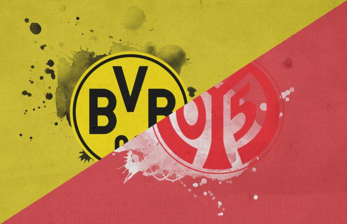 Bundesliga 2018/19: Borussia Dortmund vs Mainz Tactical Analysis Statistics