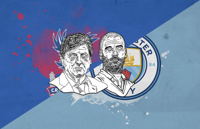 Premier League 2018/19 Crystal Palace Manchester City tactical analysis