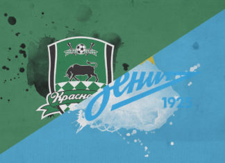 Russian Premier League 2018/19 Krasnodar Zenit tactical analysis