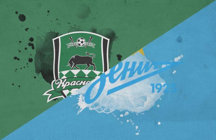Russian Premier League 2018/19 Krasnodar Zenit tactical analysis