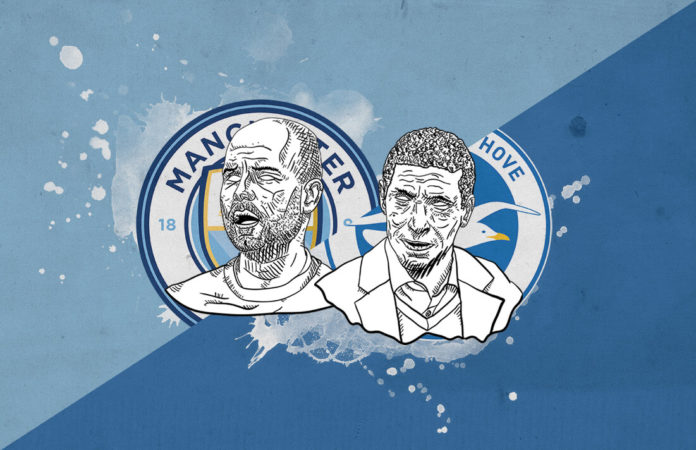 FA Cup 2018/19 Manchester City Brighton tactical analysis