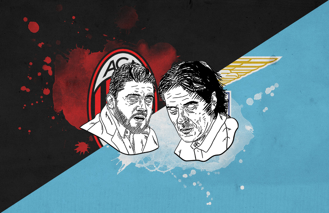 Serie A 2018/19 AC Milan Lazio tactical analysis