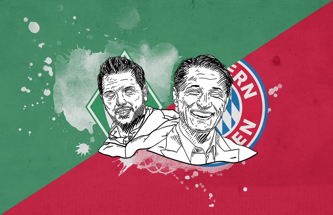 Bundesliga 2018/19 Werder Bremen Bayern Munich tactical analysis