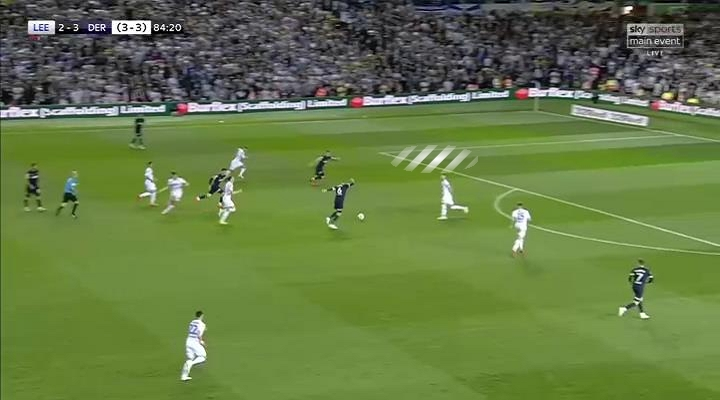 EFL Play-off 2018/2019 Tactical Analysis: Leeds United vs Derby County