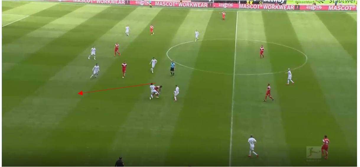 Bundesliga 2018/19 Player tactical analysis: Dodi Lukebakio at Fortuna Düsseldorf