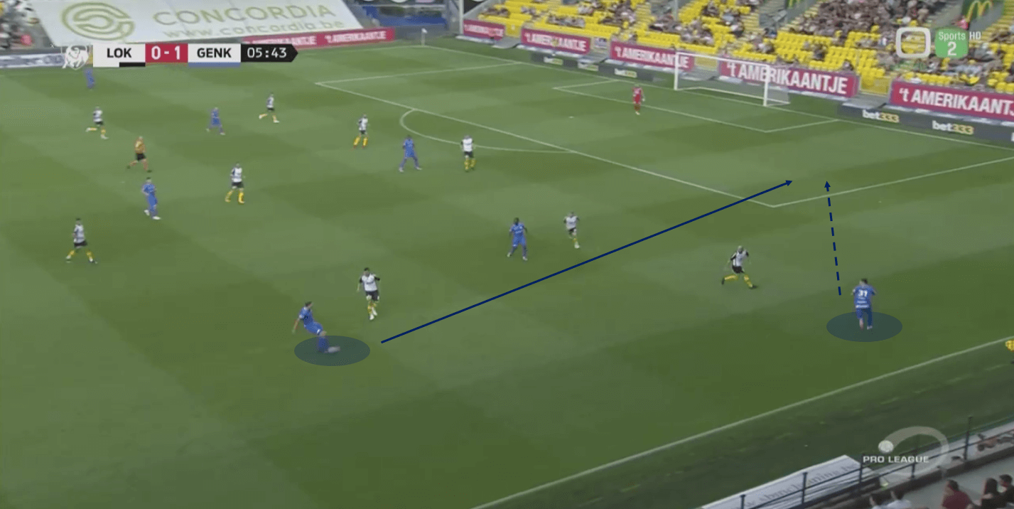 Belgian Pro League 2018/19 Tactical Analysis: KRC Genk's Sander Berge