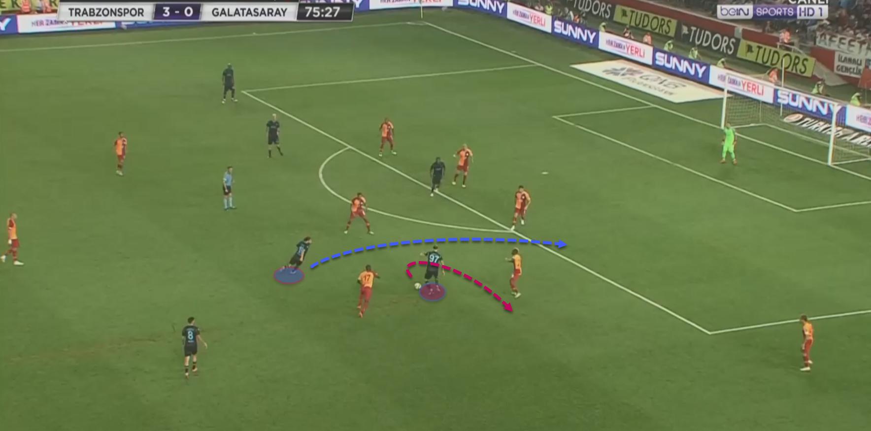 Yusuf Yazici 2018/19 - scout report - tactical analysis tactics