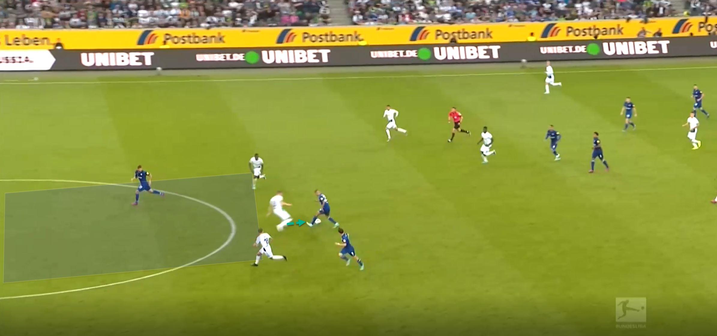 Bundesliga 2019/20: Borussia Monchengladbach vs Schalke- Tactical Analysis tactics