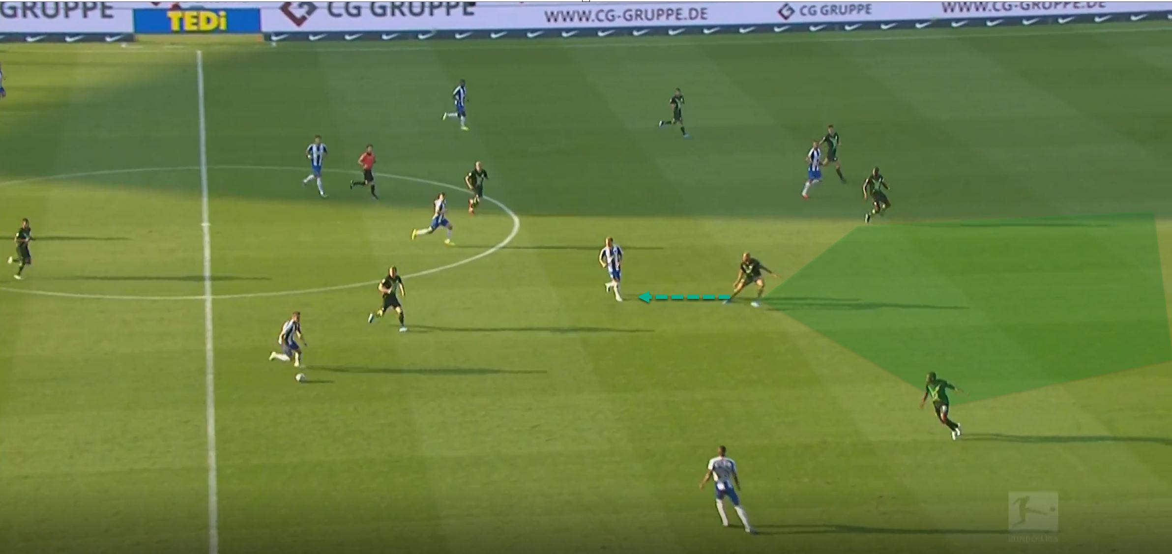 Bundesliga 2019/20: Hertha Berlin Wolfsburg- tactical analysis tactics