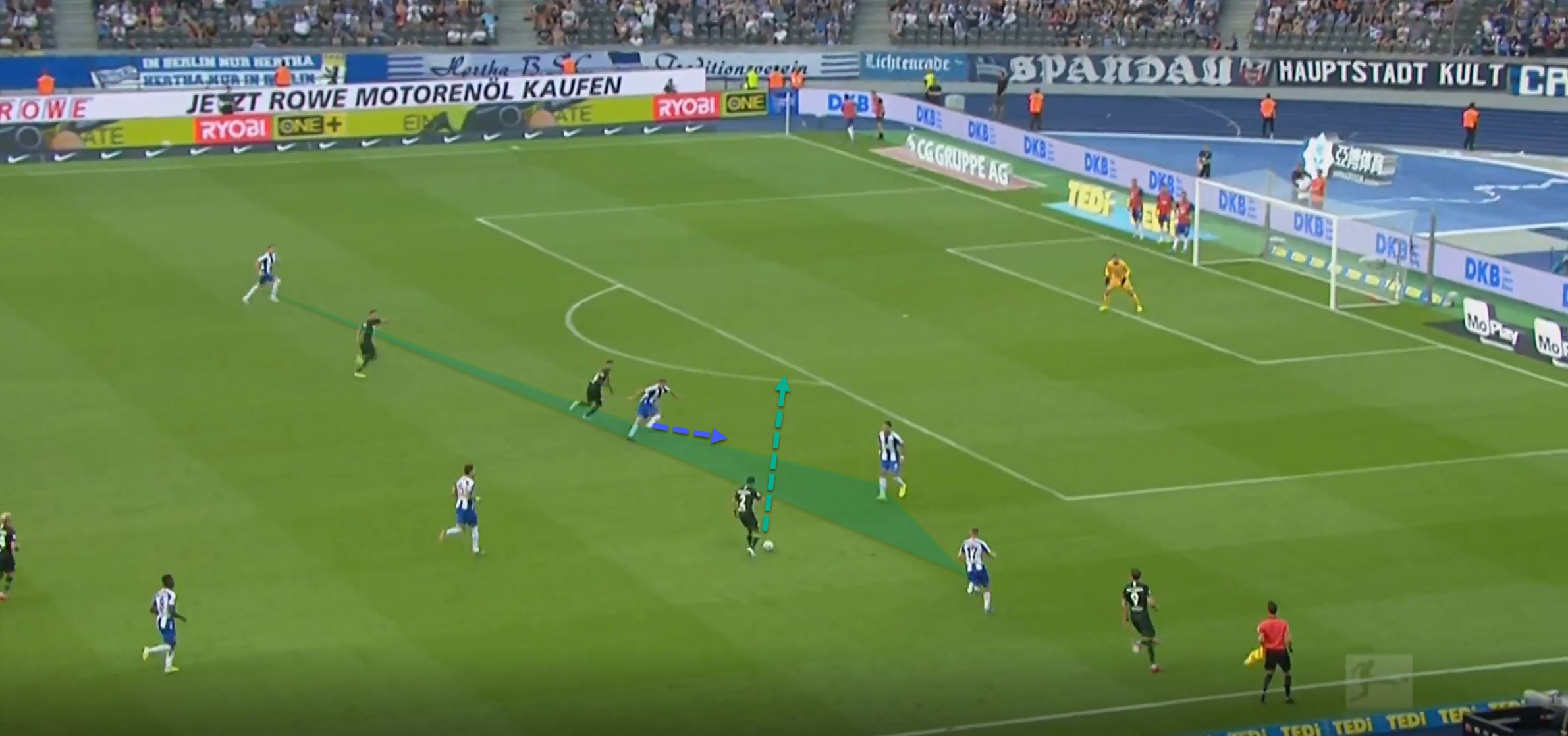 Bundesliga 2019/20: Hertha Berlin Wolfsburg- tactical analysis tactics