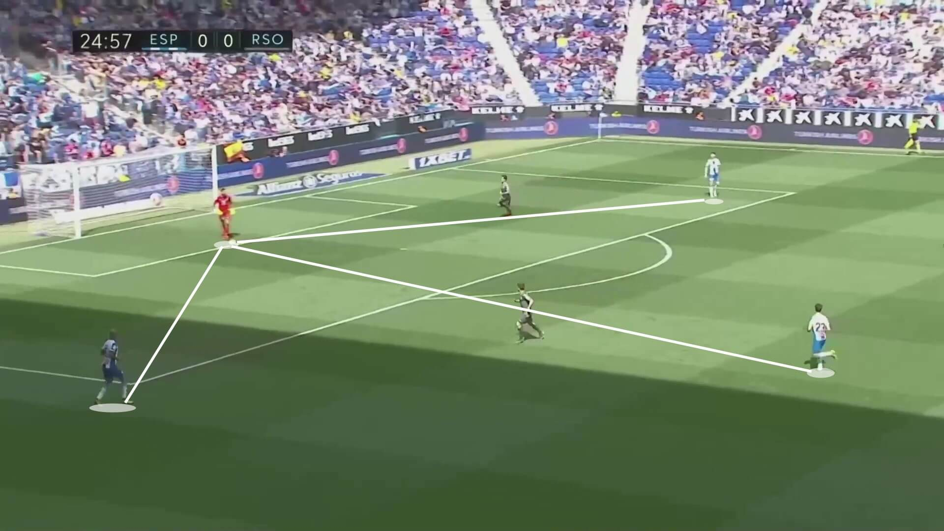 Mario Hermoso 2018/19 scout report tactical analysis tactics 1