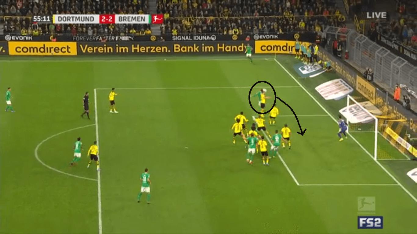 Bundesliga 2019/20: Borussia Dortmund vs Werder Bremen- tactical analysis tactics