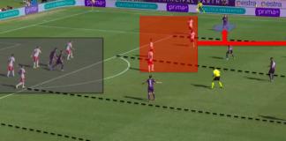 Serie A 2019/20: Fiorentina vs Juventus - tactical analysis tactics