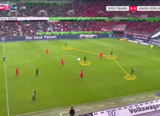 Bundesliga 2019/20: Wolfsburg vs Union Berlin - tactical analysis tactics