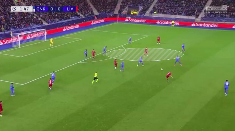 UEFA Champions League 2019/20: Genk vs Liverpool - tactical analysis tactics