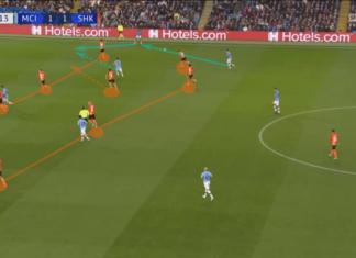 UEFA Champions League 2019/20: Manchester City vs Shakhtar Donetsk – tactical analysis tactics