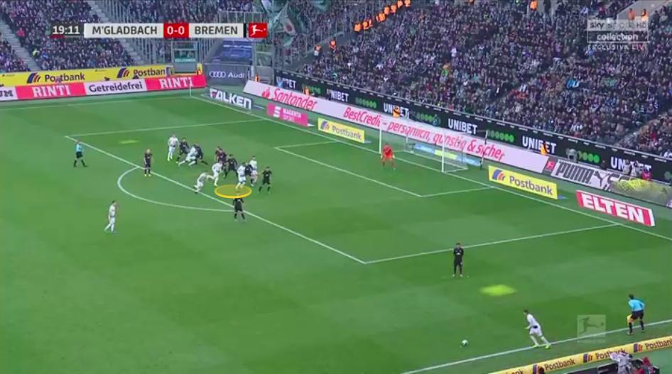 Bundesliga 2019/20: Borussia Monchengladbach vs Werder Bremen - tactical analysis tactics