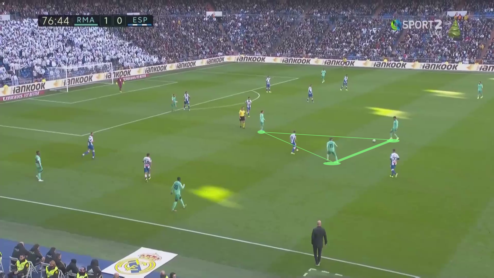 La Liga 2019/20: Real Madrid vs Espanyol - tactical analysis tactics