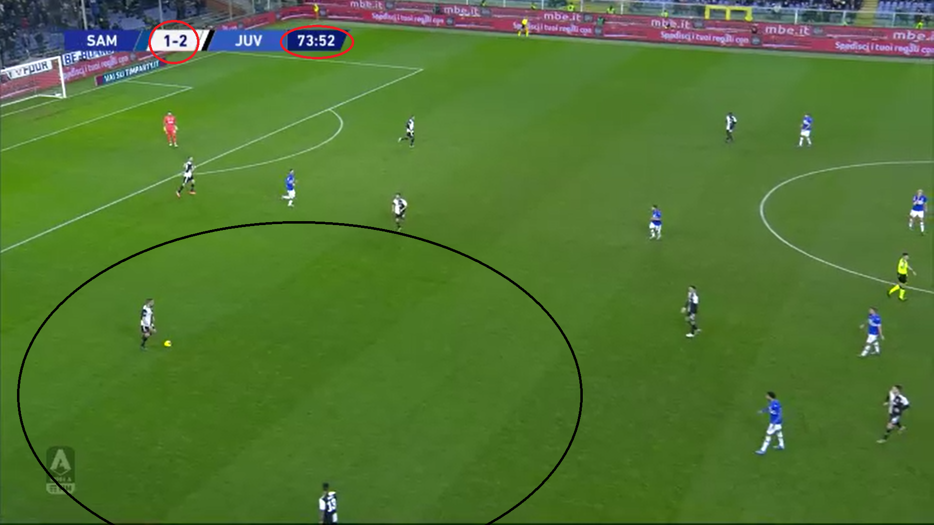Serie A 2019/20: Sampdoria vs Juventus - tactical analysis tactics