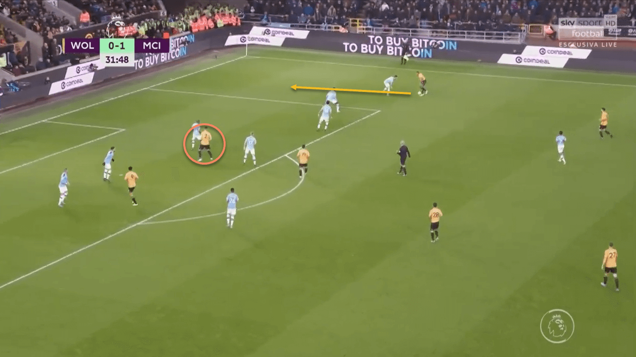 Adama Traore 2019/20 scout report tactical analysis tactics