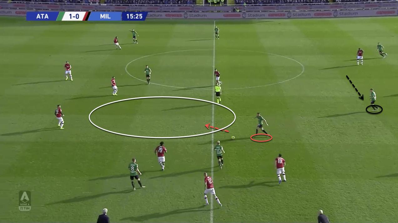Marten de Roon: Atalanta's metronome - tactical analysis tactics