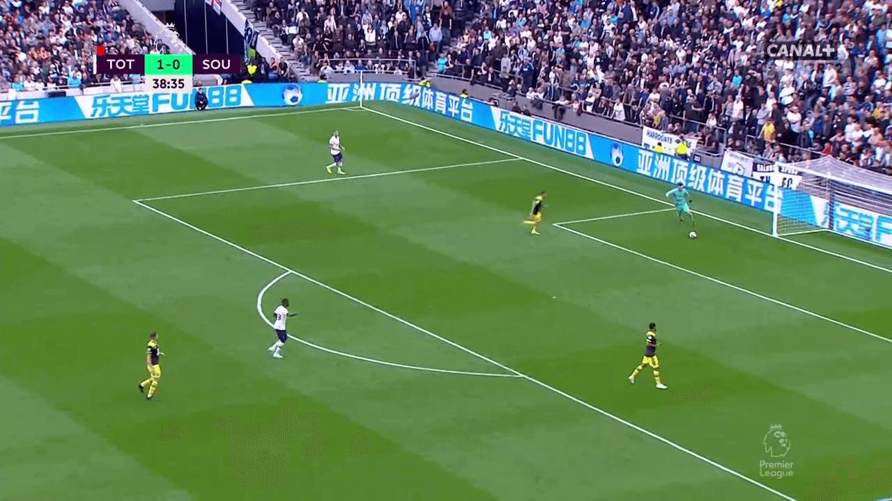 Danny Ings Southampton Premier League tactical analysis tactics