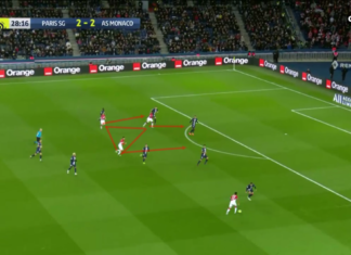 Robert Moreno at Monaco 2019/20 - tactical analysis tactics