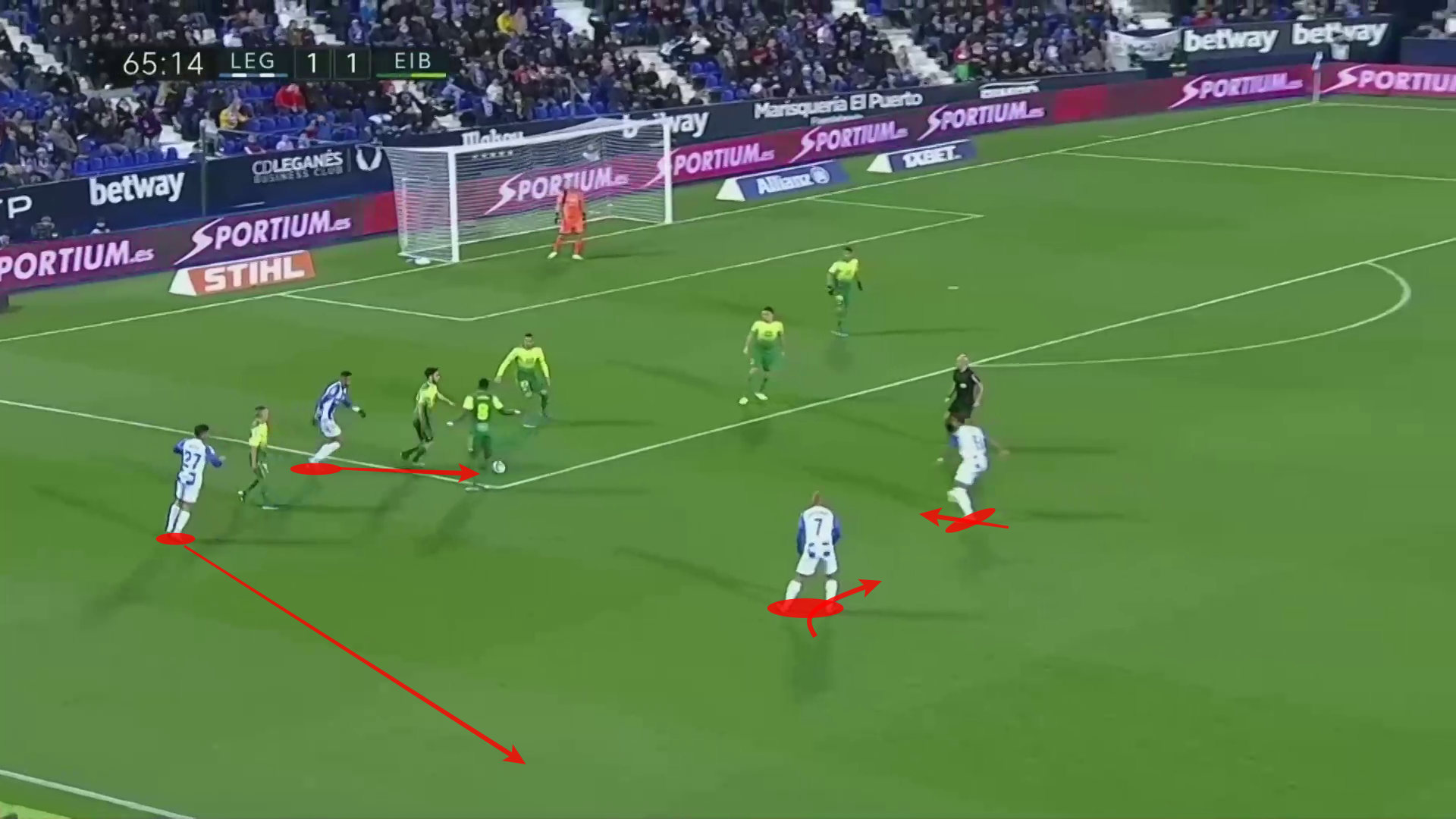 Youssef En-Nesyri 2019/20 - scout report tactical analysis tactics