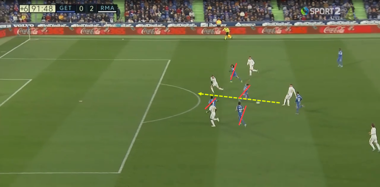 La Liga 2019/20: Getafe vs Real Madrid - tactical analysis tactics