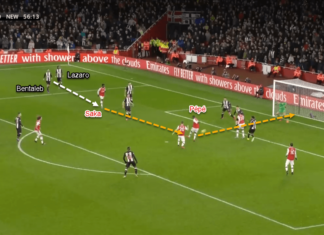 Premier League 2019/20: Arsenal vs Newcastle - Tactical Analysis Tactics
