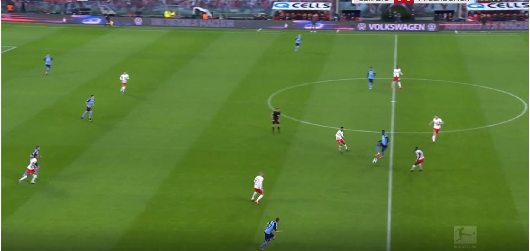 Bundesliga 2019/20: RB Leipizig vs Borussia Monchengladbach- tactical analysis tactics