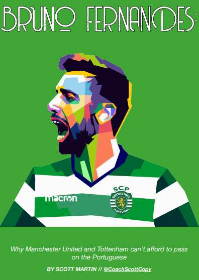 Bruno Fernandes 2019/20 - scout report - tactical analysis tactics