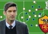 Video: Fonseca's build-up patterns at AS Roma explained - tactical analysis