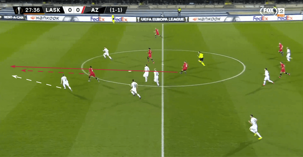 UEFA Europa League 2019/20: LASK Linz vs Alkmaar - tactical analysis tactics