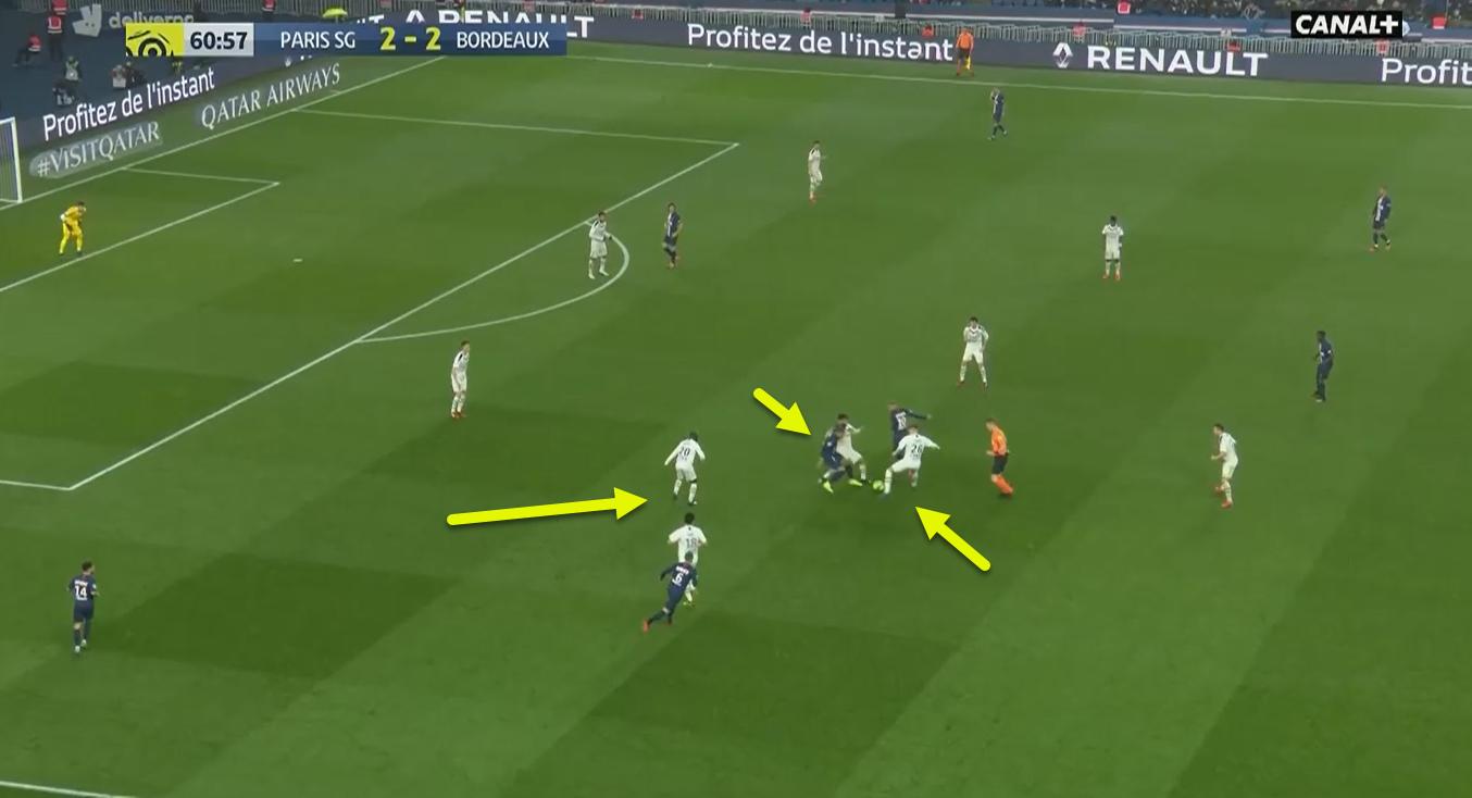 Ligue 1 2019/20: Paris Saint-Germain vs Bordeaux - tactical analysis tactics