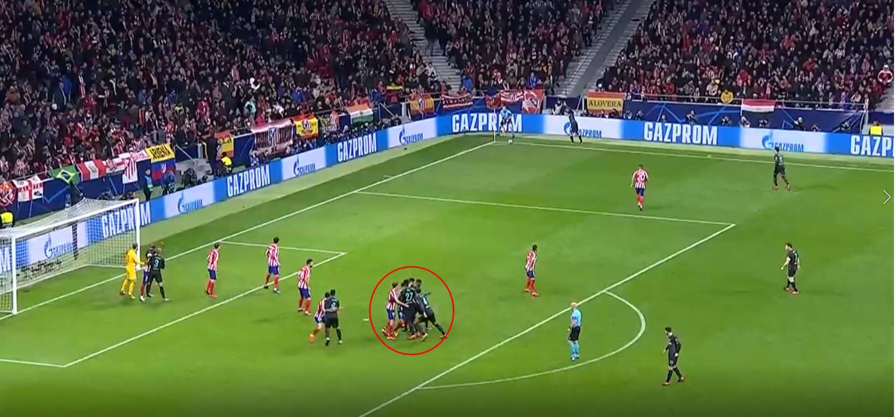 How can Liverpool use set-pieces to exploit Atletico Madrid- Set piece analysis tactical analysis tactics