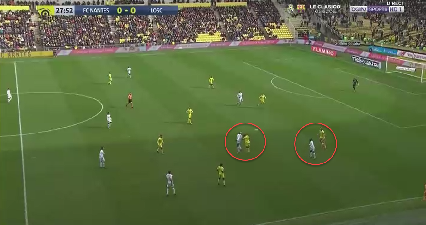 Ligue 1 2019/20: Lille vs FC Nantes - tactical analysis tactics