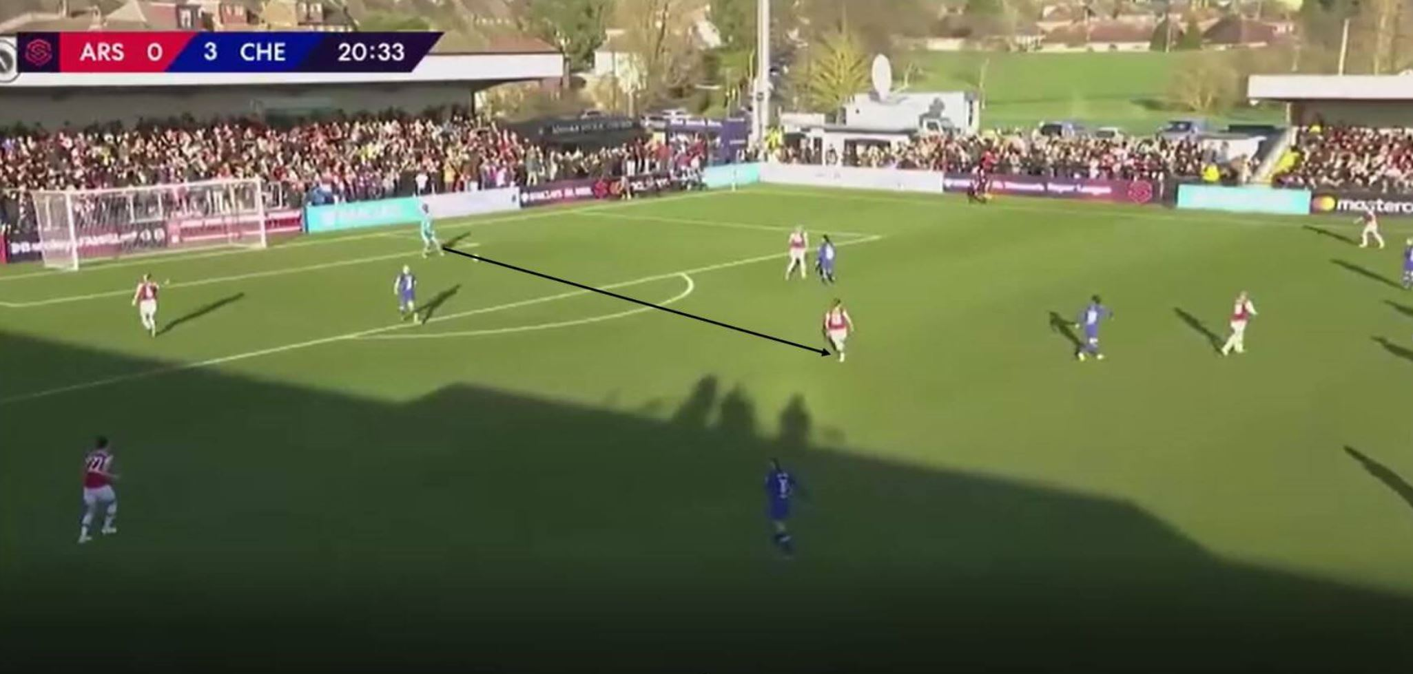 Arsenal WFC: Analysis of their build out phase - tactics