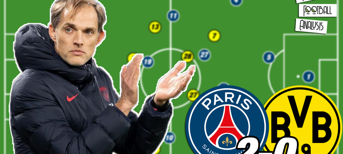 Video: Tuchel's PSG tactics that beat Borussia Dortmund - tactical analysis tactics