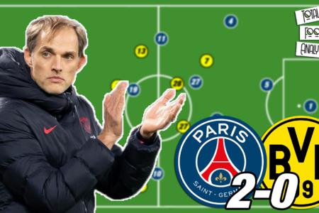 Video: Tuchel's PSG tactics that beat Borussia Dortmund - tactical analysis tactics