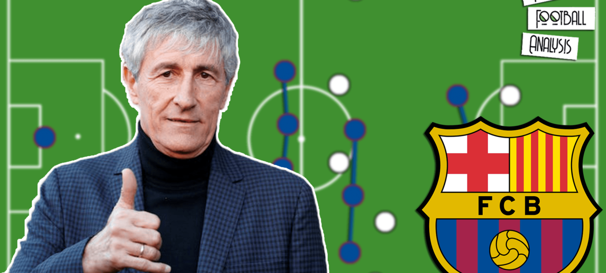 Has Quique Setien improved Barcelona's tactics? - tactical analysis tactics