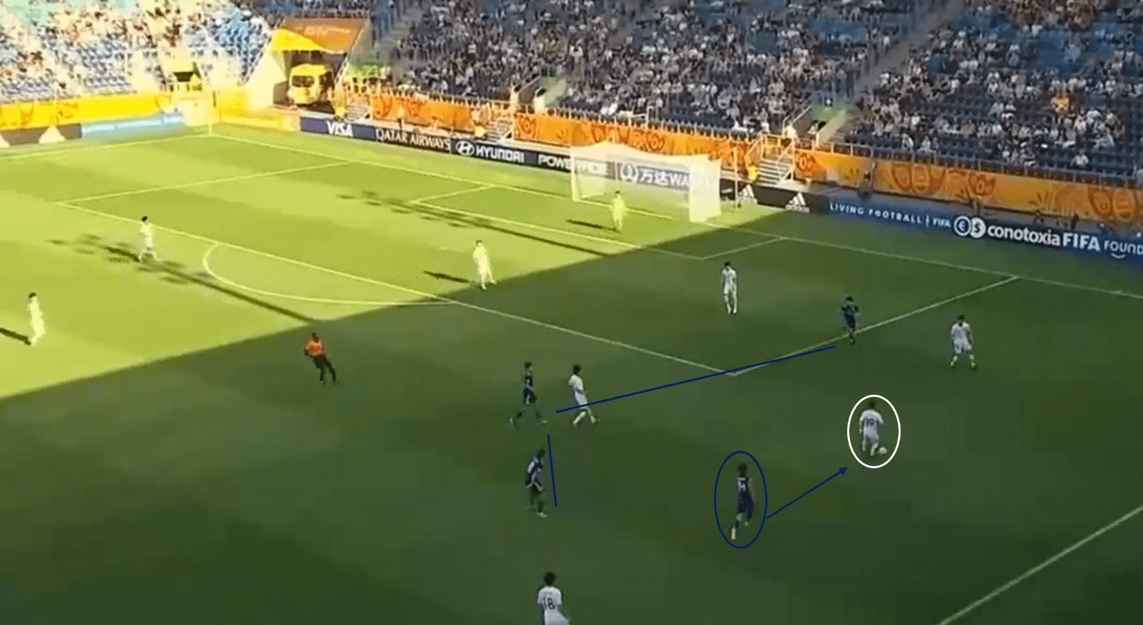 Jun Nishikawa 2020 - scout report tactical analysis tactics