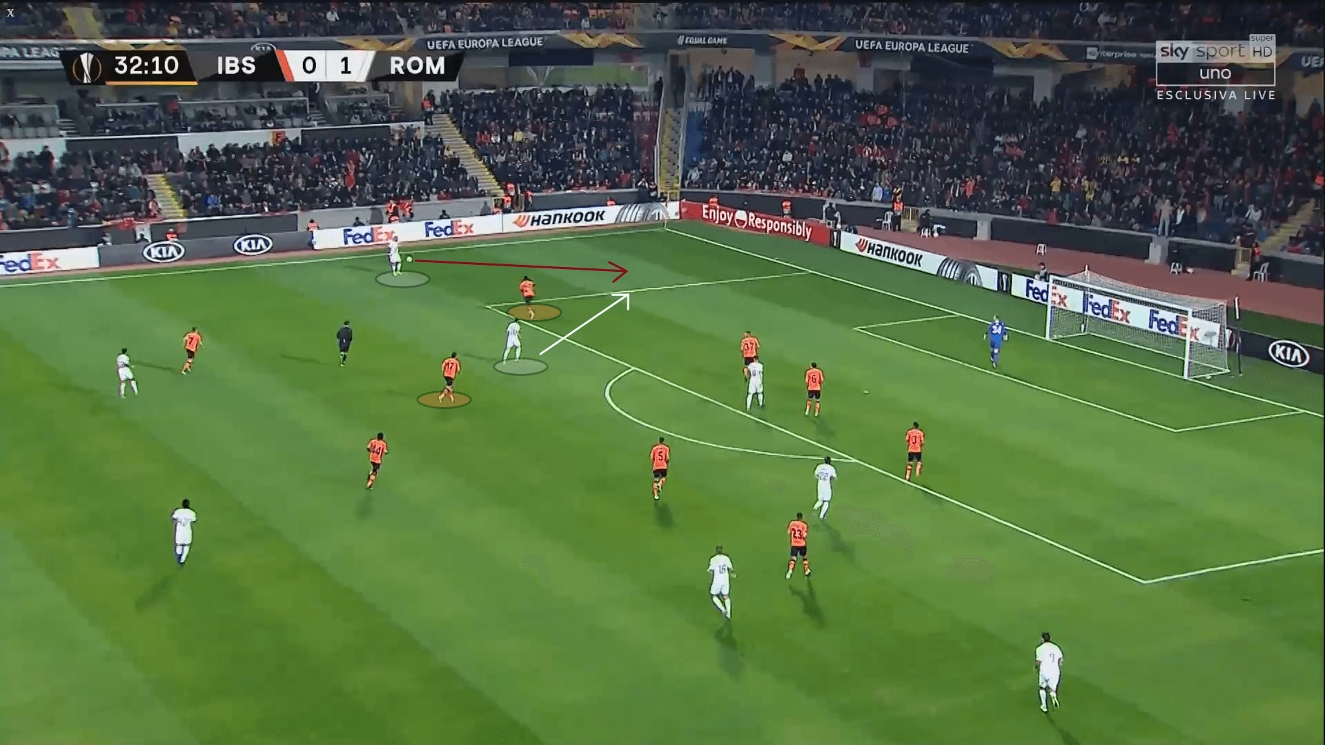 Istanbul Basaksehir: their defensive style of play under Okan Buruk - tactical analysis tactics