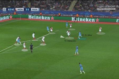 UEFA Champions League 2016/17: Monaco vs Manchester City - tactical analysis tactics