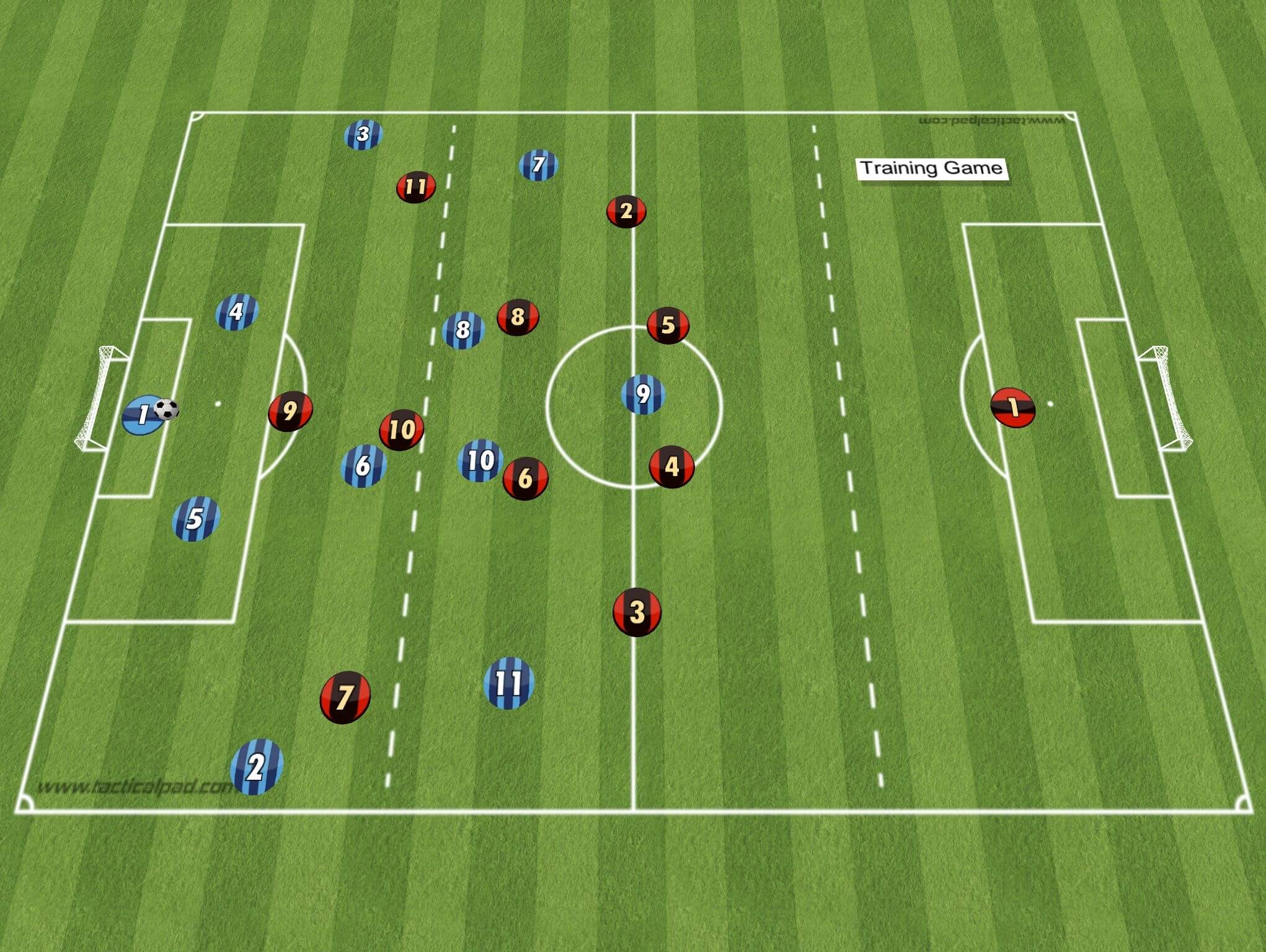 Coaching: Pressing in a 4-2-3-1 with Transition to Attack - tactical analysis tactics